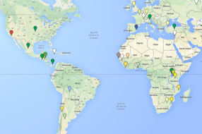 USC Global Health Project Map