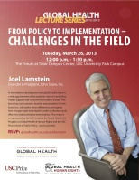 Joel Lamstein Flyer