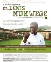Denis Mukwege Flyer