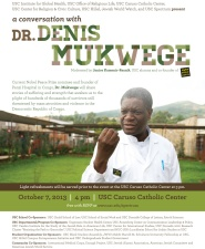Denis Mukwege Flyer