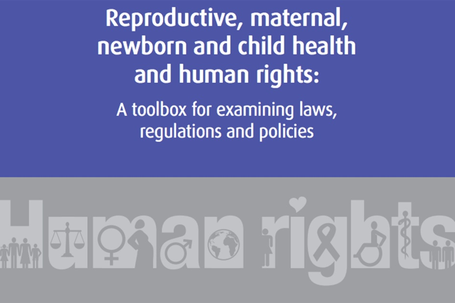Reproductive, Maternal, Newborn and Child Health and Human Rights: A Toolbox for Examining Laws, Regulations and Policies