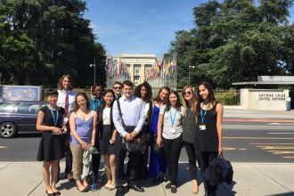2015: USC at 68th World Health Assembly