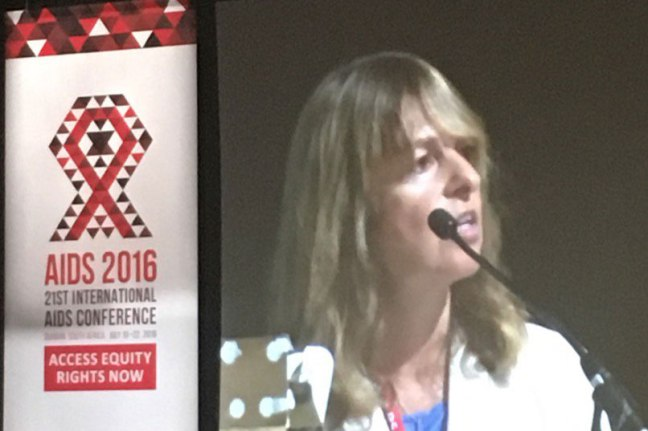 Sofia Gruskin Presents at AIDS2016