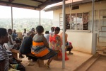 Patient education session, Uganda.