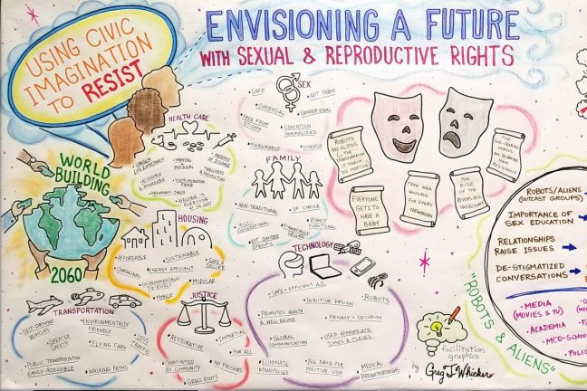 Using Civic Imagination to Resist: Envisioning A Future With Sexual and Reproductive Rights