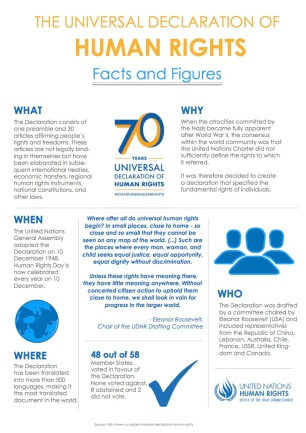 Universal Declaration of Human Rights Facts & Figures