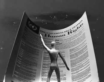 """Still frame from film """"Universal Declaration of Human Rights"""". UN Photo Photo # 329490"""