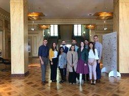 USC students at the World Health Organization