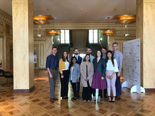 USC students at the World Health Organization